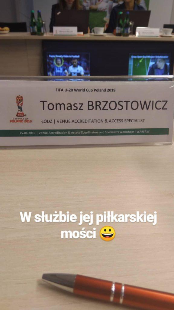 Szkolenie zespołu akredytacji FIFA U20 World Cup