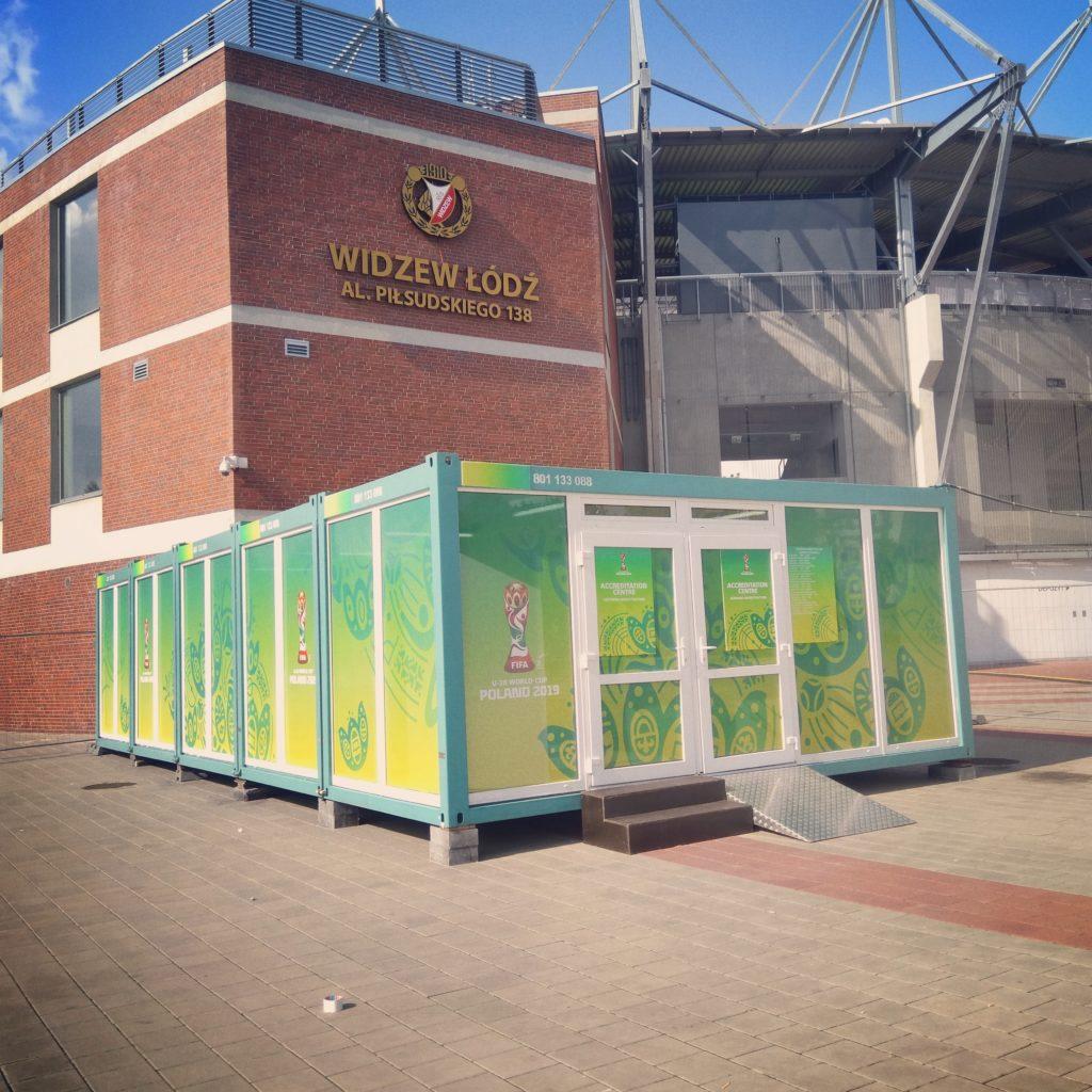 Centrum akredytacji FIFA U20 World Cup w Łodzi
